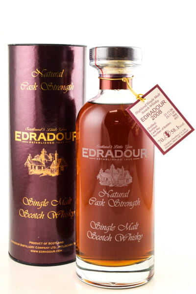 Edradour Natural Cask strength #366 2008/2020 58,1%vol. 0,7l