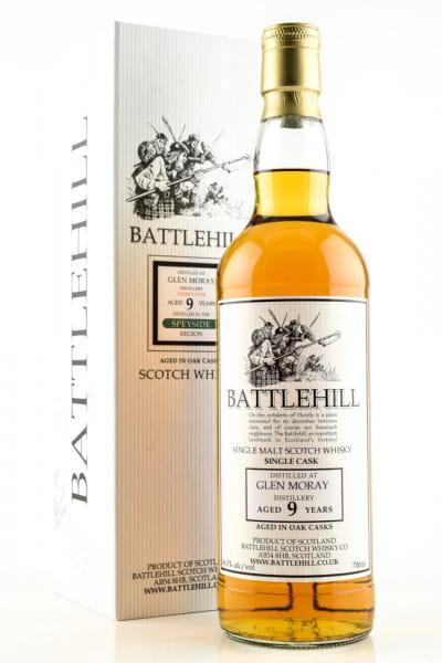 Glen Moray 9 Jahre Battlehill 46%vol. 0,7l