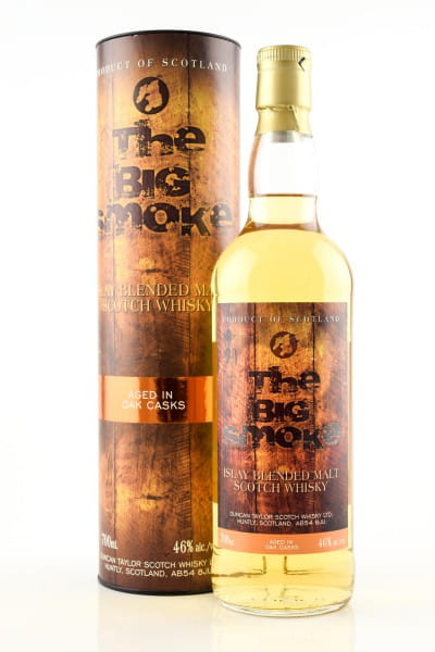The Big Smoke - Blended Islay Malt Duncan Taylor 46%vol. 0,7l