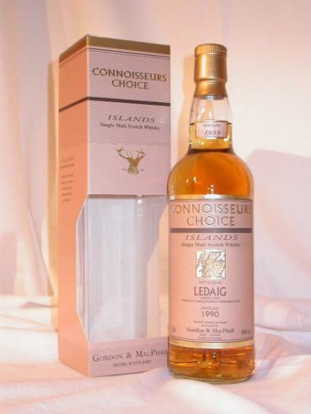 Ledaig 1990/1999 Gordon & MacPhail Connoisseurs Ch. 40%vol. 0,7l