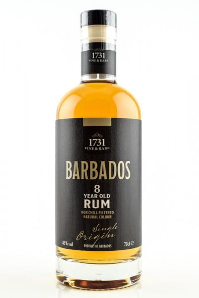 Barbados Rum 8 Jahre - 1731 Fine & Rare 46%vol. 0,7l