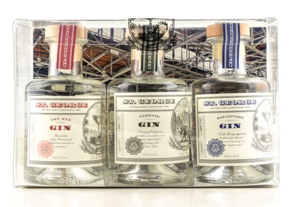 St George Combo Gin Set 45%vol. 3x 0,2l