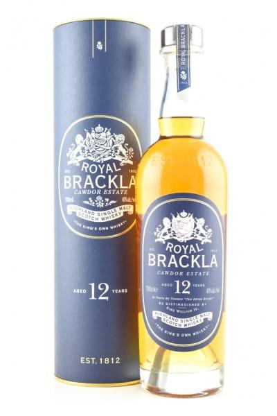 Royal Brackla 12 Jahre 40%vol. 0,7l