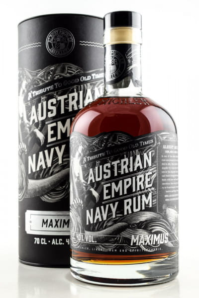 Austrian Empire Navy Rum Maximus 40%vol. 0,7l