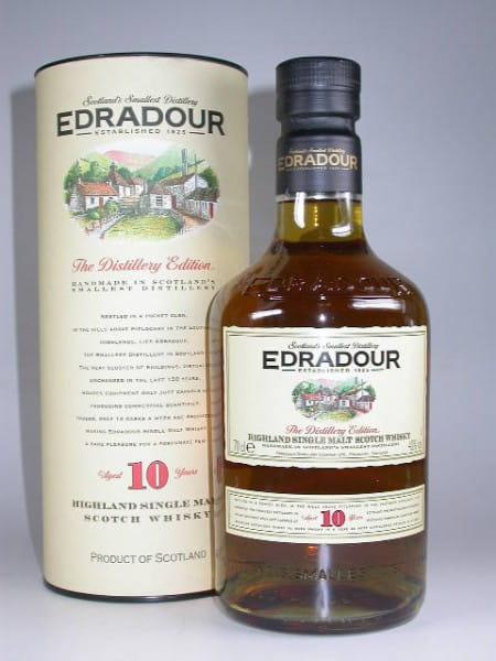 Edradour 10 Jahre (alte Ausstattung) 40%vol. 0,7l