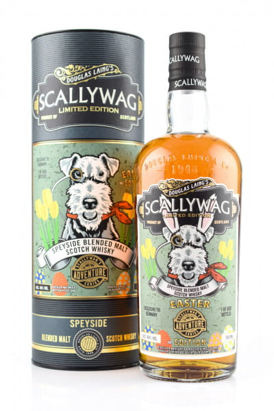 Scallywag Easter Edition 2021 48%vol. 0,7l