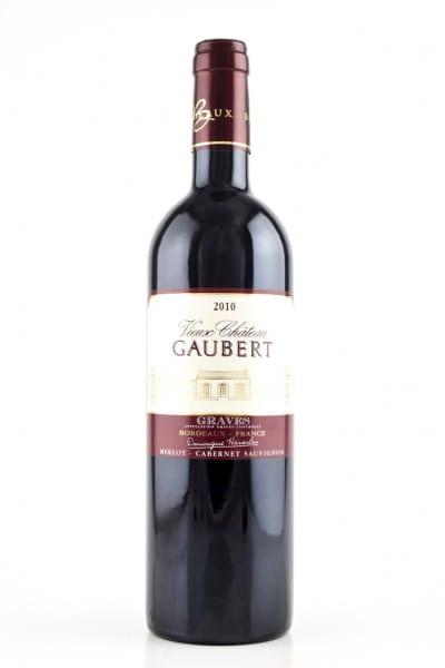 Graves 2010 Bordeaux Vieux Chateau Gaubert rouge 13%vol. 0,75l