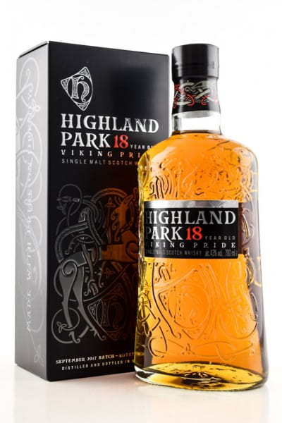 Highland Park 18 Jahre 43%vol. 0,7l