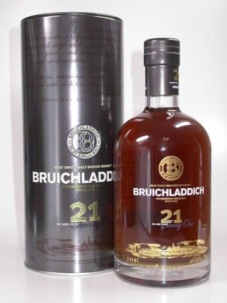 Bruichladdich 21 Jahre Oloroso-Sherry Casks 46%vol. 0,7l