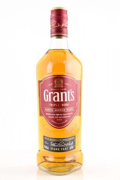Grant's Triple Wood 40%vol. 0,7l