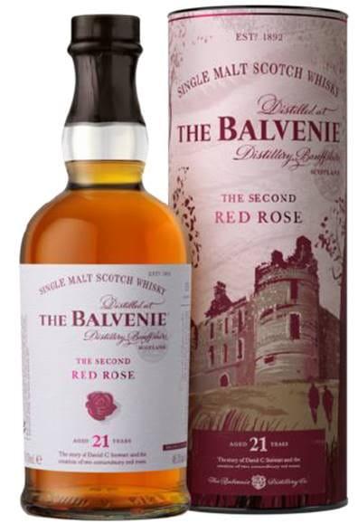 Balvenie 21 Jahre The Second Red Rose 48,1%vol. 0,7l