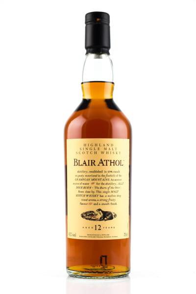 Blair Athol 12 Jahre Flora & Fauna 43%vol. 0,7l