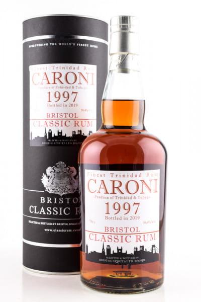 Caroni 1997/2019 Bristol Classic Rum 56,4%vol. 0,7l