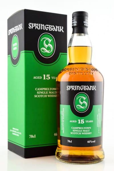 Springbank 15 Jahre 46%vol. 0,7l