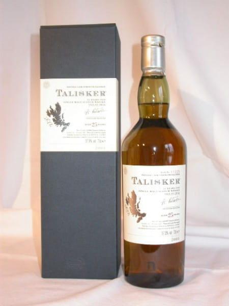 Talisker 25 Jahre Btl. 2004 Cask Strength 57,8%vol. 0,7l