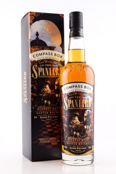 The Story of the Spaniard Compass Box 43%vol. 0,7l
