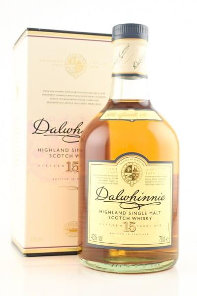 *Dalwhinnie 15 Jahre 43%vol. 0,7l - ohne Geschenkpackung, Etikett beschädigt