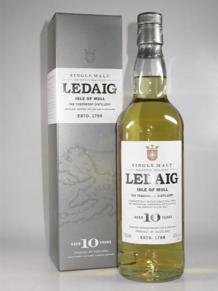 Ledaig 10 Jahre 43%vol. 0,7l - altes Design