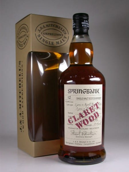 Springbank 1997/2010 Claret Wood 54,4%vol. 0,7l
