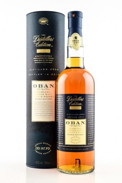 Oban 2004/2018 Distillers Edition 43%vol. 0,7l