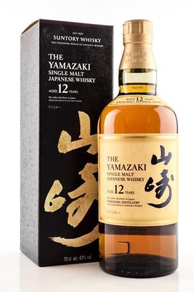 Yamazaki 12 Jahre 43%vol. 0,7l - ohne Geschenkpackung