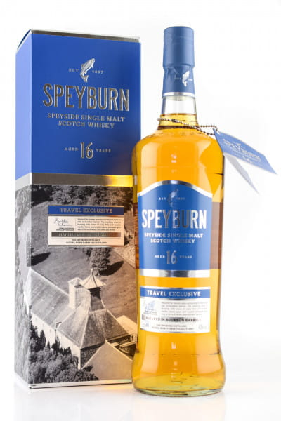 Speyburn 16 Jahre 43%vol. 1,0l