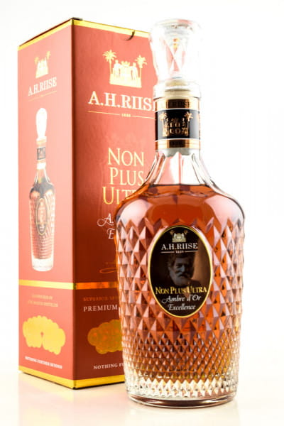 A.H. Riise Non Plus Ultra Ambre d'Or Excellence 42%vol. 0,7l