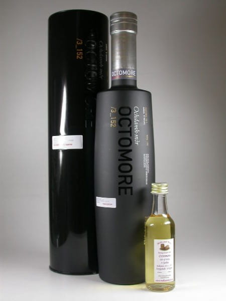 Octomore Edition 03.1 3_152 5 Jahre 152ppm 59%vol. Sample 0,05l