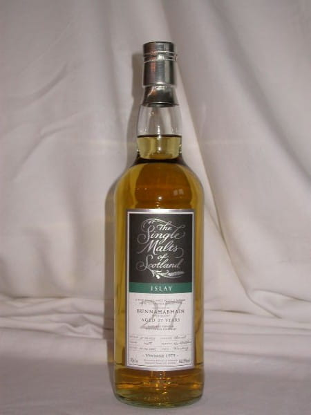 "Bunnahabhain 27 Jahre 1979/2007 ""The Single Malts of Scotland"" 46%vol. 0,7l"