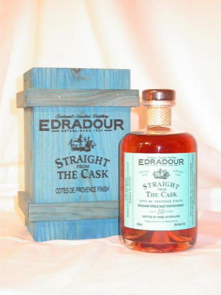 Edradour 1996/2006 Cote de Provence Finish 59,8%vol. 0,5l
