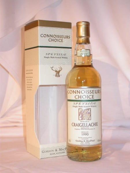 Craigellachie 1990/2007 Gordon & MacPhail Connoisseurs Ch. 43%vol. 0,7l