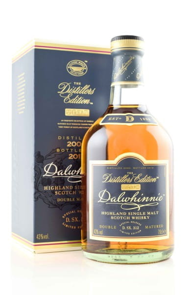 Dalwhinnie 2000/2016 Distillers Edition 43%vol. 0,7l