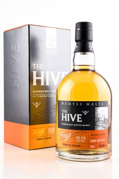 The Hive Batch Strength #002 Wemyss Malts 55,5%vol. 0,7l