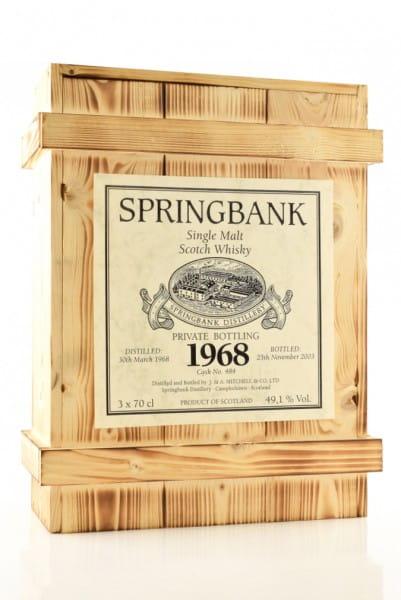 Springbank Private Bottling 1968 Holzkiste