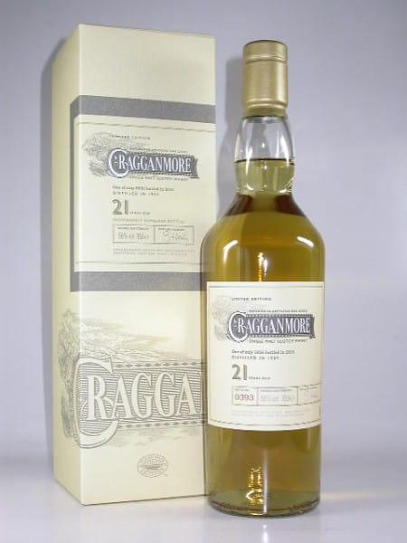 Cragganmore 21 Jahre 1989/2010 56%vol. 0,7l