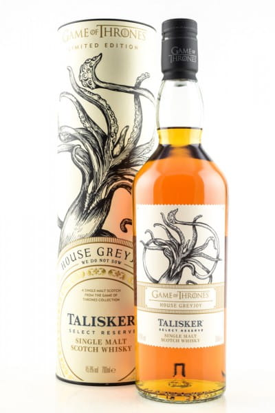 Game of Thrones House Greyjoy & Talisker Select Reserve 45,8%vol. 0,7l