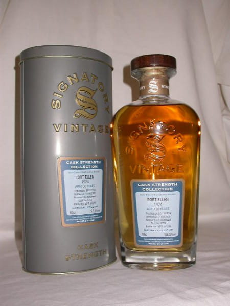 Port Ellen 1974/2005 Signatory Cask strength Coll. 58,5%vol. 0,7l