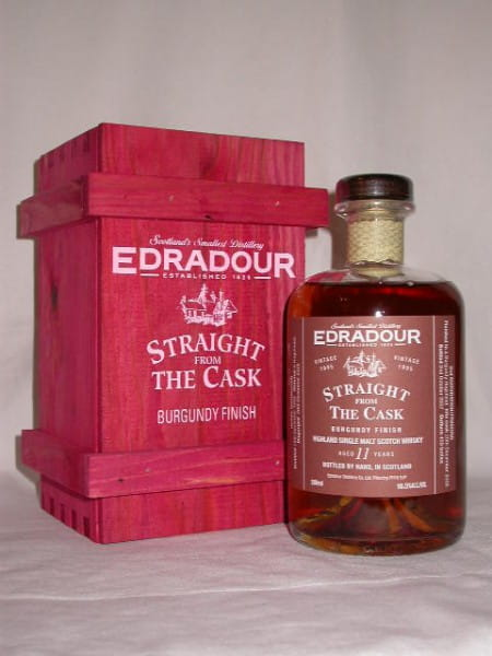 Edradour 1995/2007 Burgundy Finish 56,5%vol. 0,5l