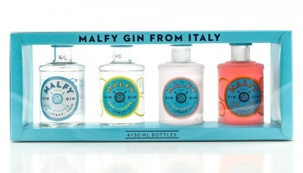 Malfy Gin from Italy 41%vol. 4x 0,05l