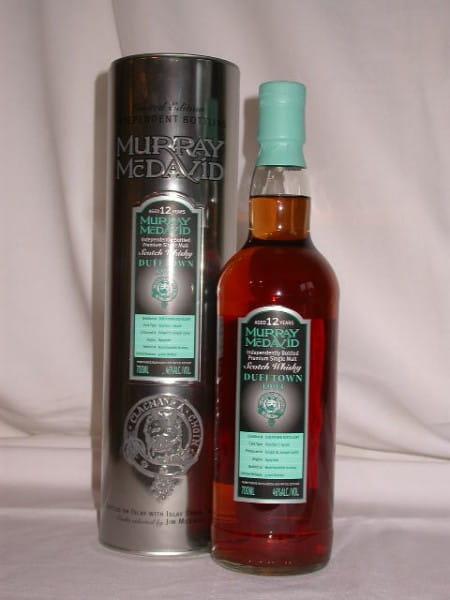 Dufftown 1993/2005 Bourbon/Syrah Murray McDavid 46%vol. 0,7l