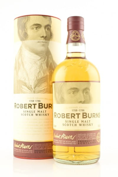 Arran Robert Burns Single Malt Scotch Whisky 43%vol. 0,7l