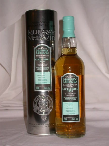 Littlemill 1991/2006 Bourbon Murray McDavid 46%vol. 0,7l