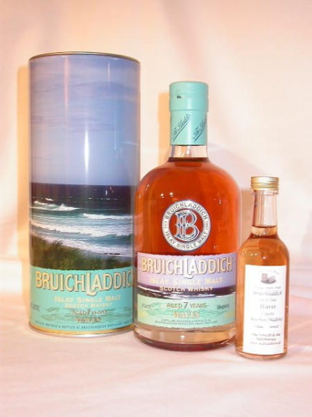 Bruichladdich WAVES 7 Jahre 46%vol. Sample 0,1l