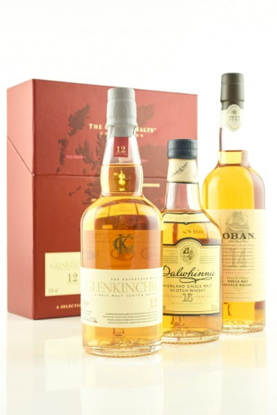 Classic Malts Collection Gentle Glenkinchie/Dalwhinnie/Oban 3x0,2l