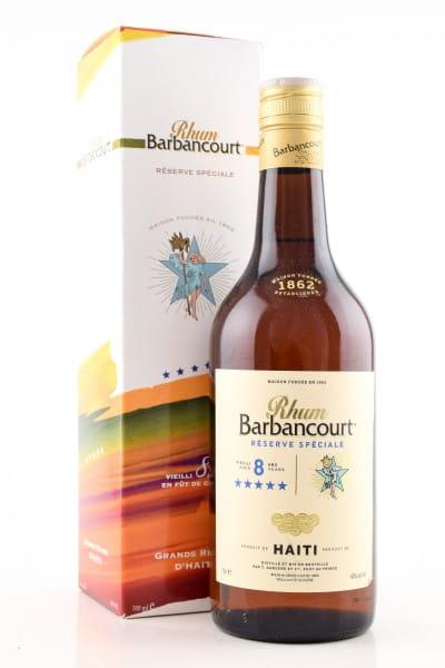 Barbancourt Rhum 8 Jahre 43%vol. 0,7l