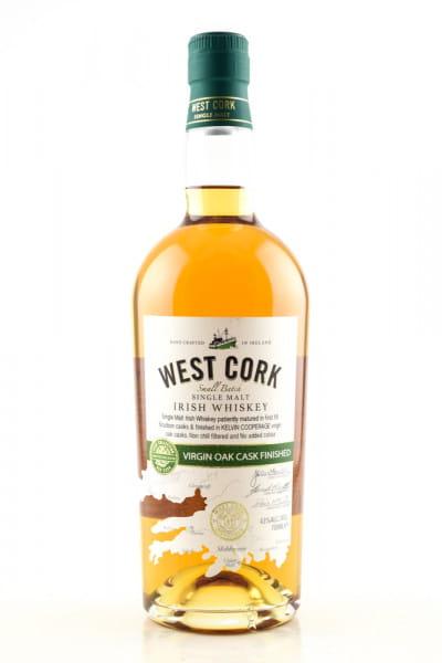 West Cork Virgin Oak Cask Finished 43%vol. 0,7l