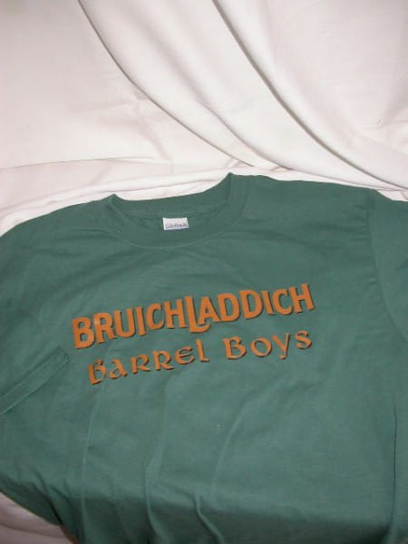 Bruichladdich Barrel Boys T-Shirt Gr. XL
