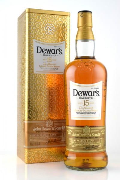 Dewar's 15 Jahre The Monarch 40%vol. 0,7l