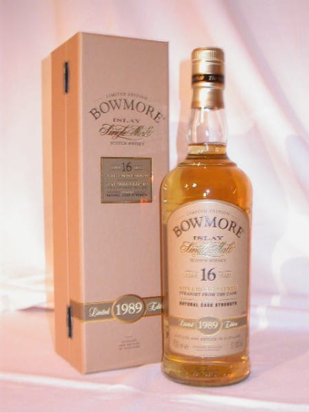 Bowmore 16 Jahre 1989/2005 Bourbon Matured 51,8%vol. 0,7l
