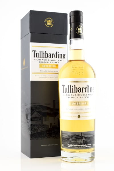Tullibardine Sovereign 43%vol. 0,7l
